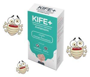 Eliminar los piojos con KIFE+
