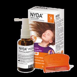 Eliminar piojos sin dañar el cabello con Dimeticona nyda
